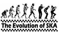 The Evolution of Ska (via rudimentarymydear, kelly-danielle)