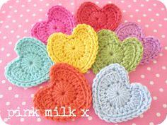 Pink Milk: Sharing The Crochet Love x