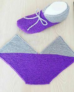 Easy Knitting, Knitting Patterns Free, Knitting Socks, Free Pattern, Crochet Bikini, Crochet Top, Slippers, Swimwear, Sweaters