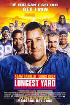 The Longest Yard starring Adam Sandler and Chris Rock, Counter-Strike: Global Offensive, Counter-Strike: Global Offensive DVD. The Longest Yard starring Adam Sandler and Chris Rock Source by Funny Movies, Comedy Movies, Great Movies, Comedy Quotes, 80s Movies, Watch Movies, See Movie, Movie Tv, K1 Kickboxing
