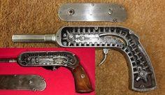 Французский цепной пистолет Гайкота (кликните по изображению, чтобы увидеть фото полного размера)