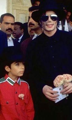 Michael Jackson e Omer Bhatti @jayjayjanx