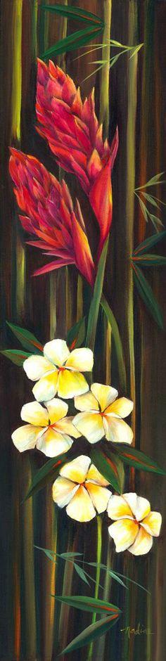 Bamboo Ginger Plumeria by Nadine Ramelb