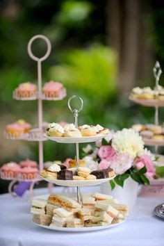 Tiered Tea Desserts