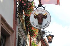 Zum Roten Ochsen - one of the oldest restaurants in Heidelberg, Germany - fantastic, authentic German food!