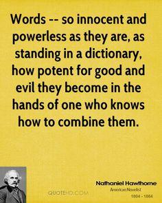 Nathaniel Hawthorne Quote