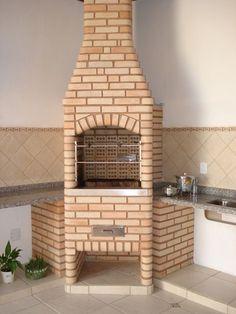A churrasqueira de alvenaria é um modelo clássico (Foto: Divulgação)