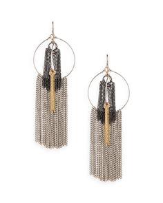 The Hula Fringe Earrings by JewelMint.com, $29.99