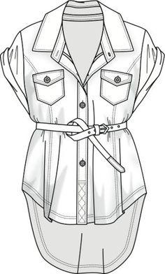 Short dress fashion flat