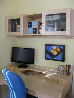 The wall-mounted desk has become a favorite for those utilizing spare (or only) bedrooms as offices, as well as with anyone who appreciates ...