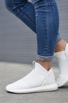 adidas Tubular Defiant RO TF Leather Core White #sneakers #sneakernews