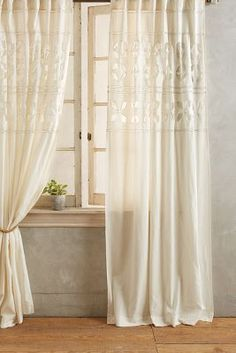 Embroidered Corbin Curtain