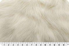 Arctic Fox Fur Ivory