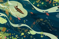 Author-illustrators Phung Nguyen Quang and Huynh Kim Lien's 'The First Journey'
