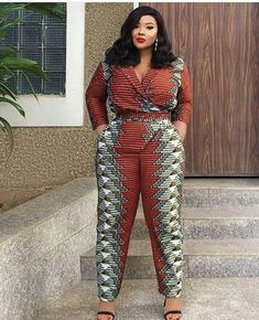 latest Aso-Ebi and Ankara dress designs are all value it , the evolution of the designs. we continually assume the Ankara vogue is a bomb so these latest 2018 Ankara dress vogue is valued finding out. African Print Jumpsuit, Ankara Jumpsuit, African Print Dresses, African Dress, African Prints, African Fashion Designers, Latest African Fashion Dresses, African Print Fashion, Africa Fashion