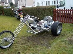 build a vw trike Tricycle Motorcycle, 3 Wheel Motorcycle, Vw Trike, Motorcycle Trailer, Bike Trailer, Custom Trikes, Custom Choppers, Custom Harleys, Custom Motorcycles