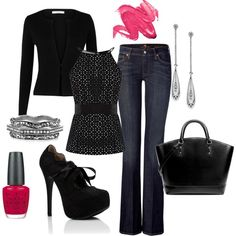 """""""that touch of pink"""" by cami-woods-aley on Polyvore"""