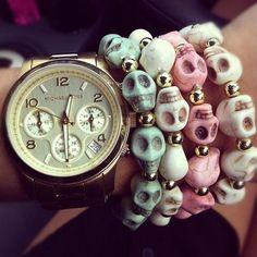 sugar skull bracelets