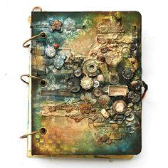 Prima grungebook by finnabair, Dec. 2012 - good for when I go back to teaching (A level)