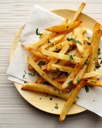 Bistro Fries Recipe // More Great French Fries: http://fandw.me/SqG #foodandwine