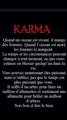 Le Karma c'est ma vie❤️ Citation Silence, Silence Quotes, Karma Quotes, Life Quotes Love, Love Quotes For Him, Words Quotes, Citations Karma, Positive Attitude, Positive Quotes