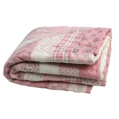 Hand Made Patchwork Quilt - baby girl | GWAG