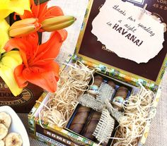 Night in Havana Theme Party - bachelor party / groom gifts?