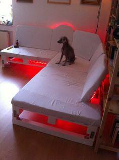 DIY Glow Palette Bed