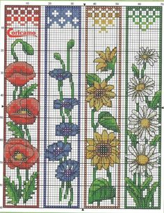 Thrilling Designing Your Own Cross Stitch Embroidery Patterns Ideas. Exhilarating Designing Your Own Cross Stitch Embroidery Patterns Ideas. Cross Stitch Books, Cross Stitch Bookmarks, Crochet Bookmarks, Cross Stitch Charts, Cross Stitch Designs, Cross Stitch Patterns, Handmade Bookmarks, Cross Stitch Flowers Pattern, Cross Stitch Freebies