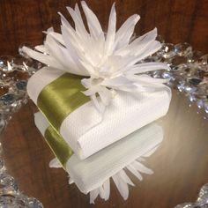 #flor em tecido para #portaguardanapo e/ou #bamcasados