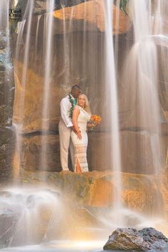 We Loved with a Love that was more then LOVE - Tad Craig Photography #weddings #waterfall #maui