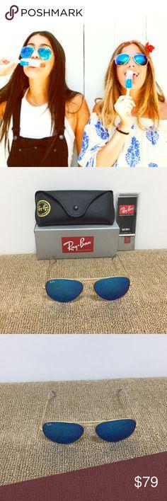 2c5e46fd59cdf4 Aviator Sunglasses Gold-Blue 3025 112 17 Ray-Ban Model  RB3025 112