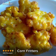 July 16- National Corn Fritters Day - for one of those days when I'm craving fried food