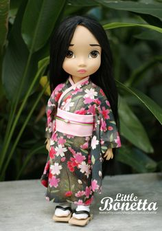 Kimono for Disney Animators 16 por PrincessBonetta en Etsy