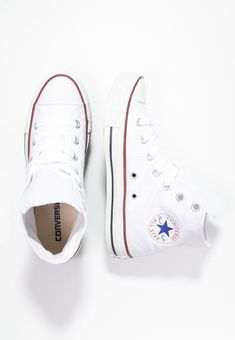 3c56d8703cf64 Converse CHUCK TAYLOR ALL STAR - High-top trainers - white - Zalando.co