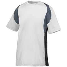 Style 1516 Youth Quasar Jersey (X-SMALL, WHITE GRAPHITE BLACK) *** Find out more about the great product at the image link. (This is an affiliate link) #Shirts