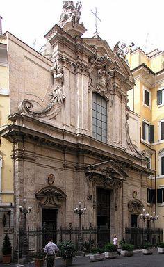 Rome Italy, S Antonio dei Portogesi