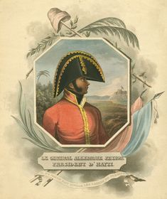 Alexandre Petion, President of #Haiti who helped with the liberation of South America. Considered as a hero of #Venezuela as well
