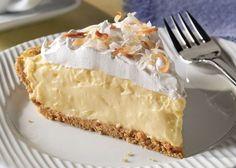 Explore easy cream pie recipes from Kraft Recipes. Find recipes for banana cream pie, chocolate cream pie, coconut cream pie, and more. Just Desserts, Delicious Desserts, Yummy Food, Pie Dessert, Dessert Recipes, Recipes Dinner, Dinner Ideas, Cream Pie Recipes, Cheese Recipes