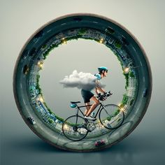 Bicycle Graphic Design : Photo
