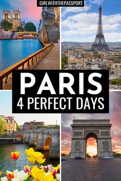 From the Louvre to Notre Dame to the Eiffel Tower to rides along the Seine to croissants, Paris, France has it all! So read this Paris travel guide, and find out about all the best things to do with 4 days in Paris. France. Paris Itinerary | Paris Photography | Paris Travel | Paris Guide | Paris Travel Tips | Paris Tips | Paris Things to do in |Paris Landmarks | Cute Spots in Paris | Paris Travel Guide | Paris France itinerary #ParisTravel #ParisGuide #France #ParisItinerary #GuideToParis