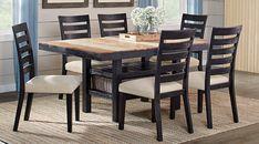 Farmington Hills Black 5 Pc Rectangle Dining Room