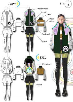 Fashion Illustration Portfolio, Fashion Portfolio Layout, Fashion Design Sketches, Portfolio Design, Fashion Flats, Love Fashion, Athleisure Fashion, Fashion Sketchbook, Coreldraw