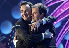 NTA Ant and Dec winning their Landmark award They act not just best friends, but brothers Just Good Friends, Best Friends, Ant N Dec, Declan Donnelly, British Things, Tv Presenters, Pop Singers, Ants, My Boyfriend