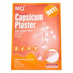 Hot Sale 10piece/lot Hot Capsicum Plaster Traditional Chinese Medical Backache Pain Relief Health Care Product Capsicum Plaster