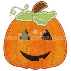 ☾☾ Crafty ☾☾ Autumn ☾☾ Jack O Lantern Applique