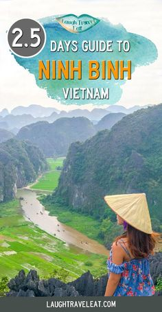 Two hours south of Hanoi, Ninh Binh is known as Halong Bay on land with the same beautiful karst mountains between rivers and rice paddies: #ninhbinh #vietnam