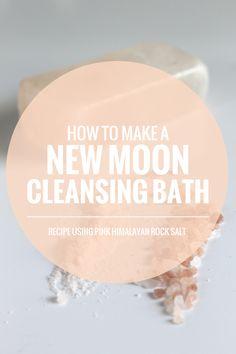 cleansing New Moon Bath recipe | Rogue Wood blog