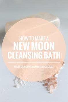 cleansing New Moon Bath recipe | Rogue Wood blog