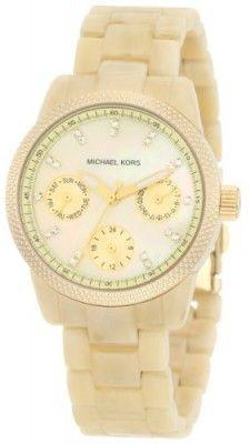 6a7fd3c7d23 Relógio Michael Kors Mini Horn Acrylic Watch MK5400  Relogios  MichaelKors  Relógio Feminino